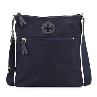 Tory Burch Ella Navy Swingpack Crossbody Handbag