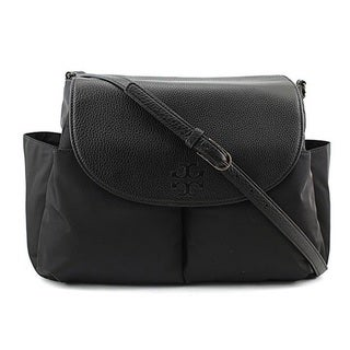 Tory Burch Thea Nylon Baby Bag Women Black Crossbody Handbag