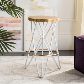 Safavieh Lorna Gold Leaf Counterstool