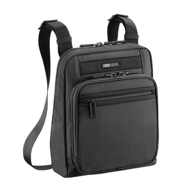 88ed79adf Shop Zero Halliburton Zest Black Shoulder Bag / Backpack - Free ...