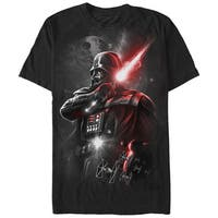Star Wars Men's Dark Lord Black Cotton T-Shirt