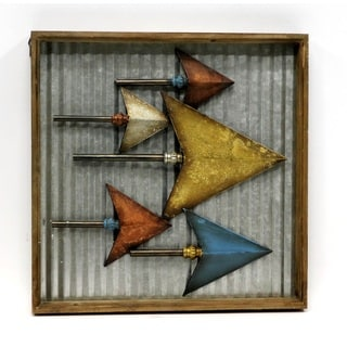 'Arrowhead' Metal Wall Art