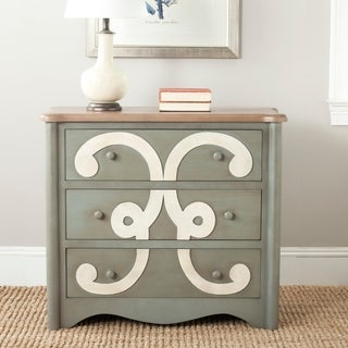 Safavieh Fawn Dark Grey Three Drawer Chest