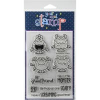 "Your Next Stamp Clear Stamps 4""X6""-Silly Monsters 2"