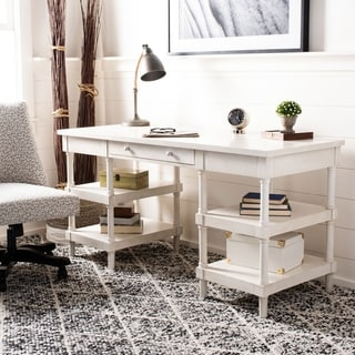 Safavieh Dixon White Wash Desk