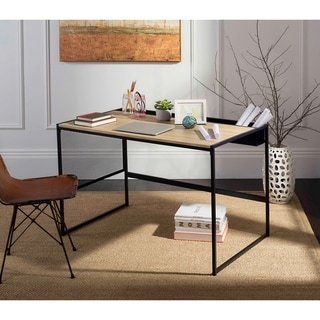 Safavieh Aali 47''W Black Writing Desk