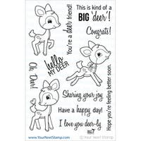 "Your Next Stamp Clear Stamps 4""X6""-Oh, Deer"
