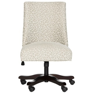 Safavieh Scarlet White / Light Ginger Desk Chair