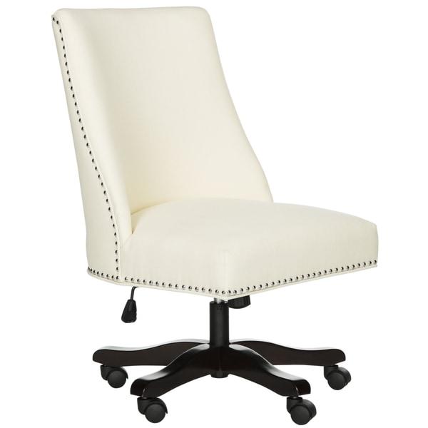 Safavieh Scarlet Cream Desk Chair