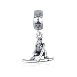 Sterling Silver Ninja Charm