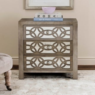 Safavieh Tasha Grey 3 Drawer Chest