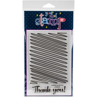 Your Next Stamp Clear Stamps 4X6-Scribble Fun One