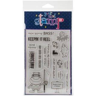 Your Next Stamp Clear Stamps 4X6-Keepin' It Reel