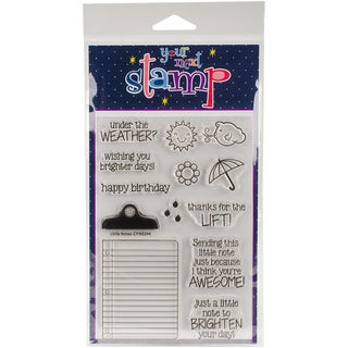 Your Next Stamp Clear Stamps 4X6-Little Notes