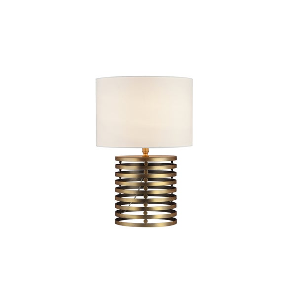 Janet Table Lamp in Brass - Bronze