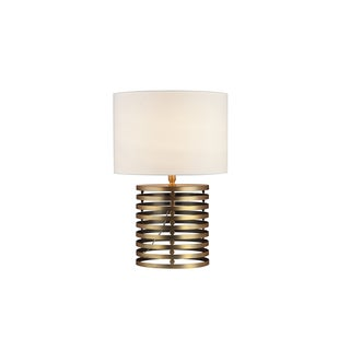 Janet Table Lamp in Brass