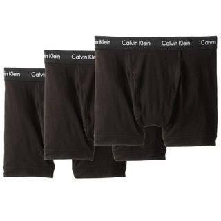 Calvin Klein Men's Underwear Cotton Stretch Trunk 3-Pack
