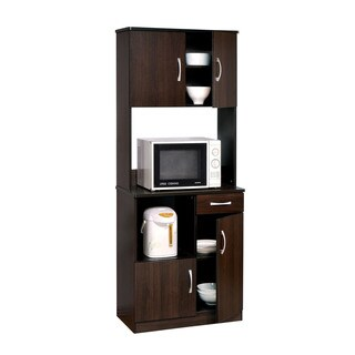 Acme Furniture Quintus Kitchen Cabinet , Espresso