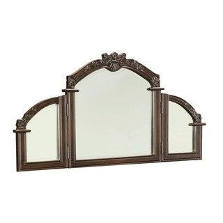 Ashton Oak Veneer Vanity Mirror