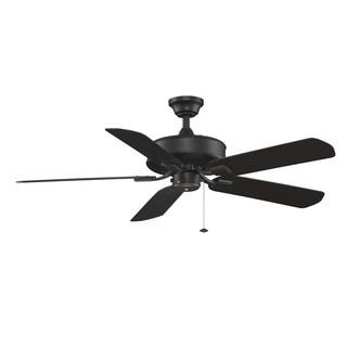 Edgewood Wet - 50 inch - Black Ceiling Fan