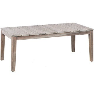 Cornwall Natural Wood Weather-resistant Coffee Table