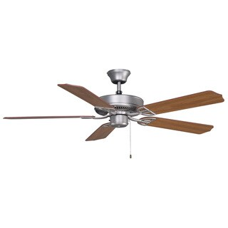 Link to Aire Decor - 52 inch - Satin Nickel - Damp Rated Ceiling Fan Similar Items in Ceiling Fans