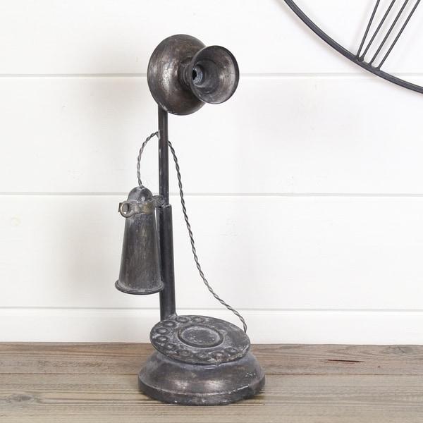Graham Black Metal Telephone