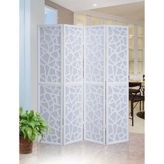 Giyano 4 Panel Screen Room Divider