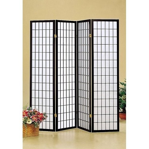 Hoceima Oriental Shoji 4 Panel Room Divider Free Shipping Today