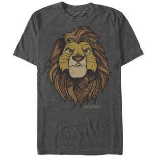 Disney Pixar Lion King Traditional African Symbol Henna Simba Graphic Tee (Extended Sizes)