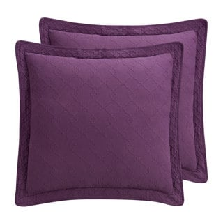 Williamsburg Richmond Purple Euro Sham