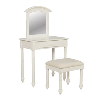 Powell Whitehust Vanity with Stool