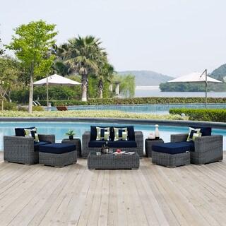 Summon 8-piece Outdoor Patio Sunbrella Sectional Set