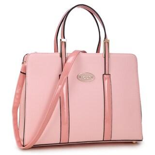 Dasein Classic Briefcase Handbag