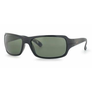 Ray-Ban RB4075 601/58 Black Frame Polarized Green 61mm Lens Sunglasses