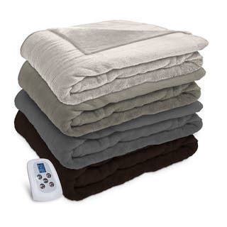 Serta Silky Plush Heated Electric Warming Blanket with a Programmable Digital Controller|https://ak1.ostkcdn.com/images/products/14431287/P20997569.jpg?impolicy=medium