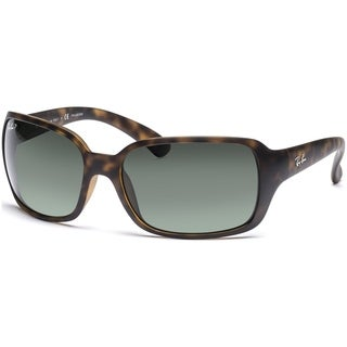 sunglasses polarized o7iq  Ray-Ban RB4068 894/58 Tortoise Frame Polarized Green 60mm Lens Sunglasses