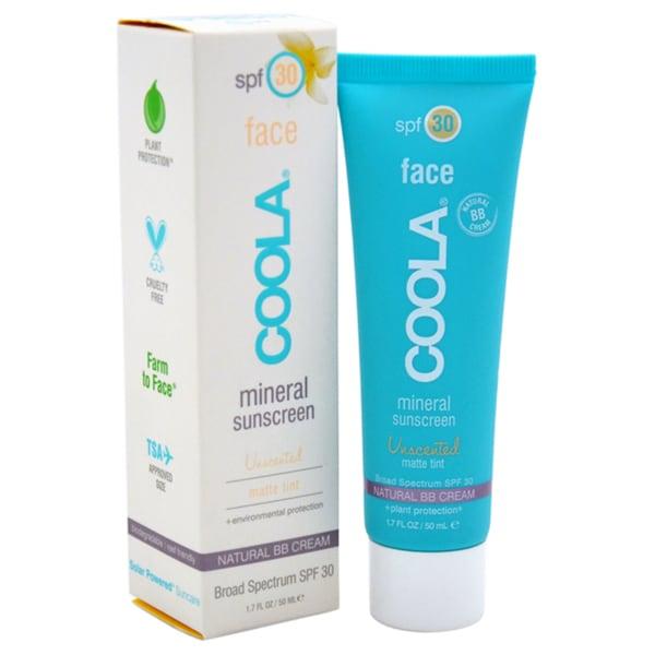 Coola 1.7-ounce Mineral Face Sunscreen Matte Tint SPF 30 Unscented