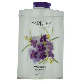 Yardley London April Violets 7-ounce Perfumed Talc