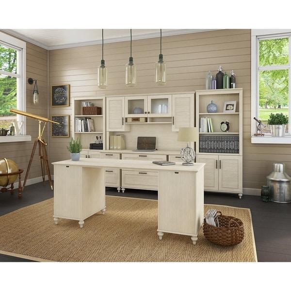 Superieur Kathy Ireland® Office Volcano Dusk Double Pedestal Desk Office Suite