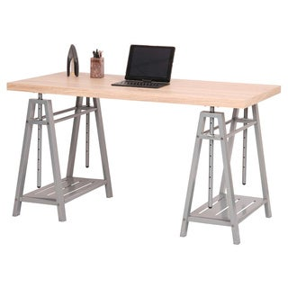 ergonomic home office desk. OS Home And Office Hollow Core Adjustable Height Writing Desk Ergonomic