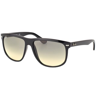 Ray-Ban RB 4147 601/32 Black Plastic Square Sunglasses with Crystal Grey Gradient Lens