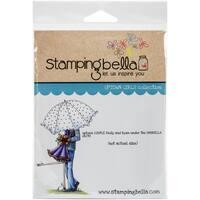 "Stamping Bella Cling Stamp 6.5""X4.5""-Emily & Ryan Under The Umbrella"