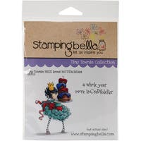 """Stamping Bella Cling Stamp 6.5""""X4.5""""-Tiny Townie Bree Loves Buttercream"""