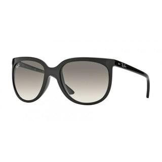 Ray-Ban RB4126 601/32 Cats 1000 Black Frame Light Grey Gradient 57mm Lens Sunglasses