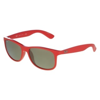 Ray-Ban RB4202 61555A Andy Purple-Red Frame Gold Mirror 55mm Lens Sunglasses