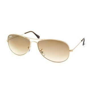 Ray-Ban RB3362 001/51 Cockpit Gold Frame Light Brown Gradient 59mm Lens Sunglasses