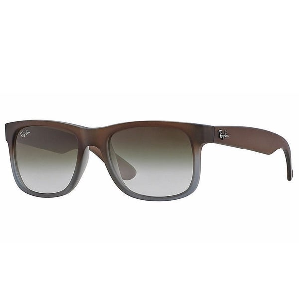 dc71d7cf0eb69 Ray-Ban RB4165 854 7Z Justin Classic Brown Frame Green Gradient 55mm Lens  Sunglasses