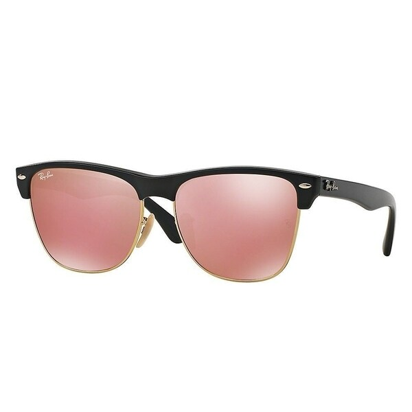 c7e3f0f1098 ... czech ray ban rb4175 877 z2 clubmaster oversized black frame copper  flash 57mm lens sunglasses d760a
