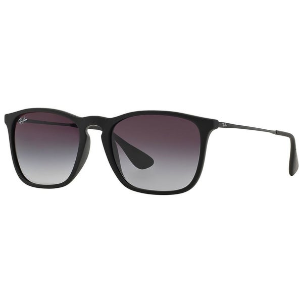 2e03dc9c7c Ray-Ban RB4187 622 8G Chris Black Frame Grey Gradient 54mm Lens Sunglasses